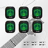 Mugig Clip-on Stimmgerät / Tuner für Gitarre, Ukulele, Bass, Geige, CE FCC Zertifiziert, Rohs-konform, Chromatisches Stimmgerät mit Batterie, Automatisch Ausgeschaltet - 3