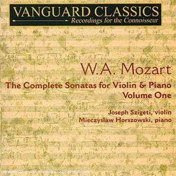 Sämtl.Violinsonaten Vol.1