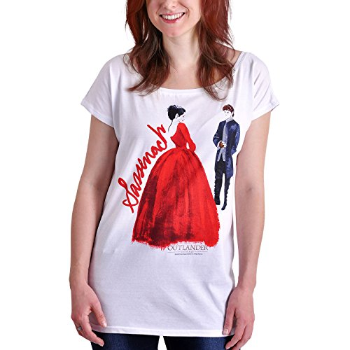 emp outlander Outlander Sassenach Girl-Shirt weiß XL
