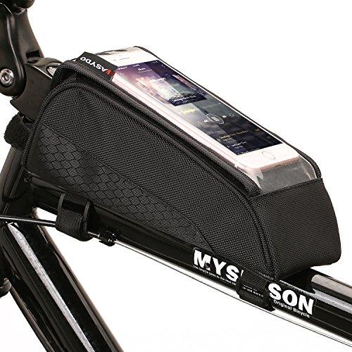ONEU Borse da Bicicletta Impermeabile Touch Screen MTB BMX Bicicletta ciclismo Telaio Borsa Bici Frontale Telefono Cellulare Borse da sella Custodia Caso Borsa Per Smartphone IPhones Samsung LG Nexus Lumia Sony HTC