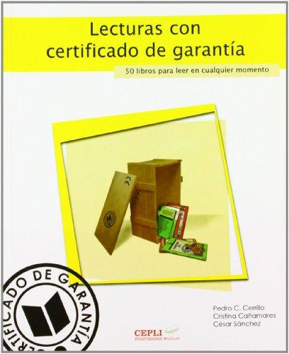Lecturas con certificado de garantía (COEDICIONES)