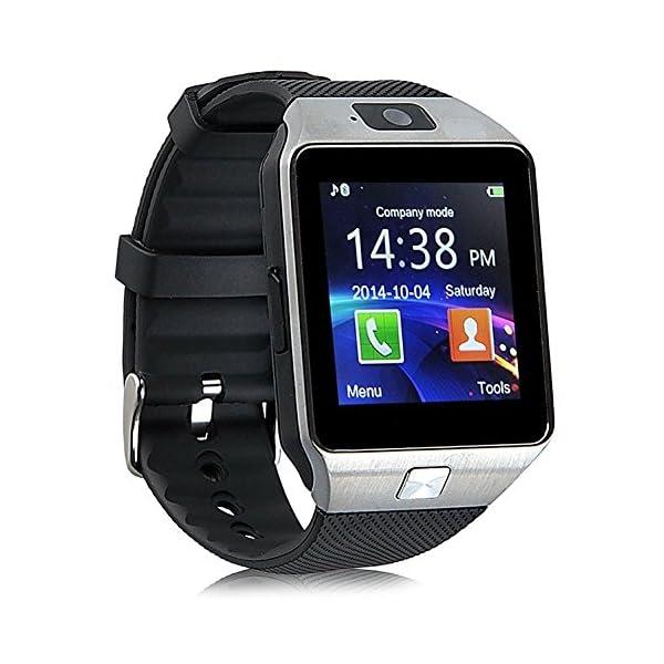 Reloj Inteligente con Cámara Tf/Ranura de Tarjeta Sim, Análisis de Sueño, Podómetro, Anti-Pérdida, Fitness Tracker… 1