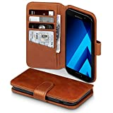 Galaxy A5 2017 Case, Terrapin [ECHT LEDER] Brieftasche Case