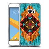 Head Case Designs Flamme Holz Tribal Muster Soft Gel Hülle für HTC 10