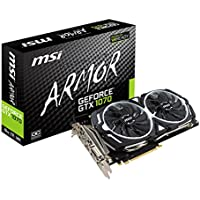 MSI GeForce GTX 1070 ARMOR 8G OC. 1920 Cuda Core PCIE 3.0 8 GB GDDR5 2