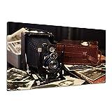 Kamera Alte Old Antik Voigtländer Nostalgie Fotoapparat Leinwand Alt uu0057 180x120