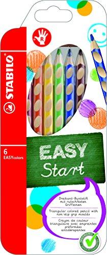 Stabilo 332/6 easycolors 6 matite ergonomiche, multicolore