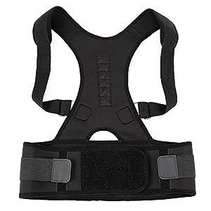 Geradehalter Neopren Rücken Schulter verstellbar atmungsaktiv Rückenbandage Rückenhalter Haltungskorrektur für Damen und Herren zur eine richtige Körperhaltung