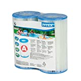 Intex Typ A Filter Kartusche für Pools, Twin Pack