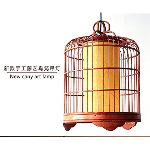 Rattan artigianato nuova illuminazione decorativi fatti a mano in rattan