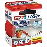 tesa 56343-00038-03, tesa Gewebeband, extra Power Perfect, rot, 2,75m x 38mm