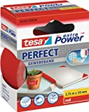tesa Gewebeband, extra Power Perfect, rot, 2,75m x 38mm