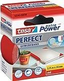 Tesa 56343-00038-03 Ruban adhésif extra Power Perfect (Rouge)
