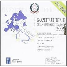 Gazzetta ufficiale della Repubblica Italiana (2006). Versione multiutenza. DVD-ROM