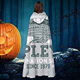 AISFGBJ Alien Ripleys Extermination Services, Vestaglia con Cappuccio, Unisex, per Natale, Halloween, Strega e Cavaliere