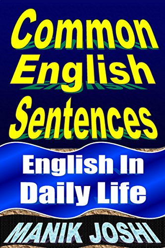 Common English Sentences In Daily Life Use Book 25 By