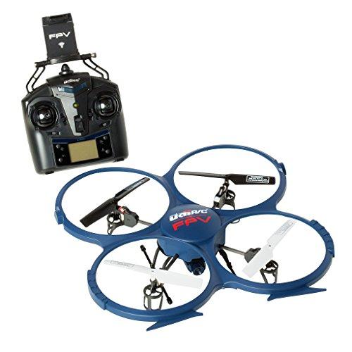 s-idee® 01607 Quadrocopter Udi U818A Wifi HD KAMERA WIFI 4.5 Kanal 2.4 Ghz Drohne mit Gyroscope Technik DROHNE MIT WIFI FPV Drone HD Kamera One Key Return Coming Home Funktion -