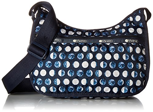 LeSportsac , Damen Schultertasche Blau La Luna -