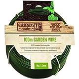 Gardman 14010 Garden Wire - General Purpose, Green, 100 m