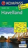 Havelland: Wanderkarte mit Kurzführer und Radwegen. GPS-genau. 1:50000 (KOMPASS-Wanderkarten, Band 745)
