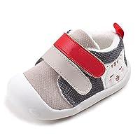 Descrizione:  Informazioni di formato:  * EU 17.5 (Lunghezza Interna:11.7cm): --- Lunghezza consigliata dei piedi: 10.5-11cm --- Adatto per bambino di 9-12M. * EU 18 (Lunghezza Interna:12.2cm): --- Lunghezza consigliata dei piedi: 11-11.5cm -...