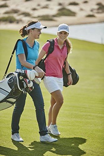Garmin Approach X40 GPS-Golfarmband - Herzfrequenzmessung am Handgelenk, automatische Erfassung der Schlagweite, Tracking der Schlagpositionen -