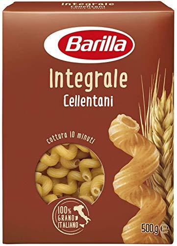 Barilla Pasta Integrale Cellentani Semola Integrale di Grano Duro - 500 g