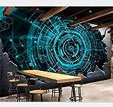 Personnalisez n'importe quelle taille de papier peint de peinture murale de Rebar Technology Fond d'écran de papier peint de mur de restaurant de restaurant 3D (1 mètre de mètre)