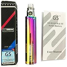 GS Ego II 2200mah Huge Capacity Battery 2015 Edition Ego / 510 E-Shisha E-Cigarette Rainbow