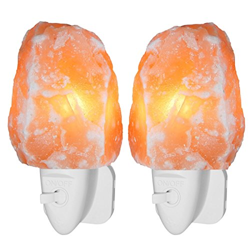 amir-natural-himalayan-mini-rock-salt-lamp-2-pack-crystal-wall-lights-with-plugs-for-air-purifying-l