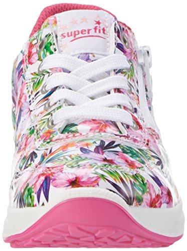 Superfit Merida Mädchen Sneakers Mehrfarbig (Weiss Multi 52)