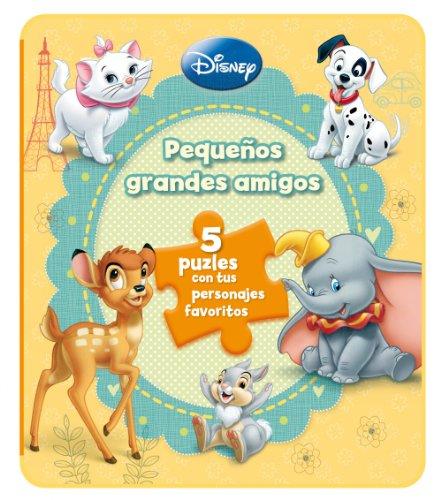 Clásicos Disney. Libro Con Puzles. Pequeños Grandes Amigos