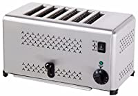 The Urban Kitchen 6 SLICE TOASTER, 6-Slice Toaster, Elegant design, Family-sized 6-slice toaster, Easy-clean crumb trays, settings for desirable browning level, Auto pop-up