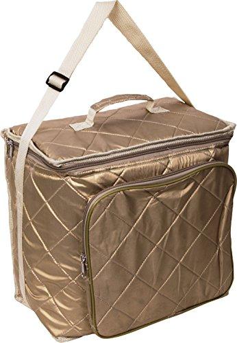 Bazoom borsa frigo termica, zaino per trasportare il vostro pranzo e la vostra merenda, capacità 18 litri, spessore 7mm vari colori (oro)