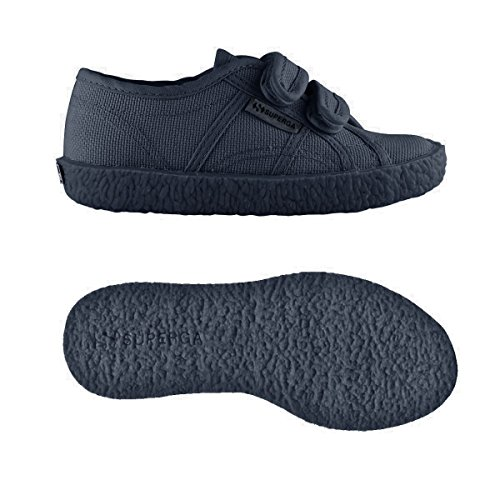 Superga  2750-naked Covj, Sneakers basses Unisexe - enfant TOTAL NAVY