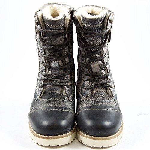 Yellow Cab Damen Stiefel/Boots Soldier W DK Brown Y25101 dkbrwn