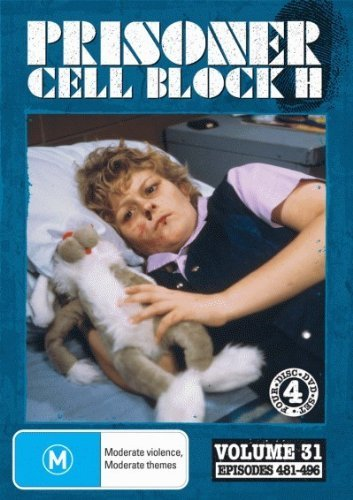 Prisoner: Cell Block H - Vol. 31 (Ep. 481-496) - 4-DVD Set ( Caged Women ) ( Women Behind Bars ) by Alan Hopgood (Caged Woman-dvd)