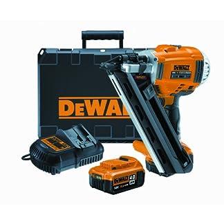 DeWALT DCN690M2 Neúmatico – Martillos eléctricos y grapadoras eléctricas (2.8-3.3 mm, 34°, Negro, Amarillo, 125 mm, 345 mm, 338 mm)