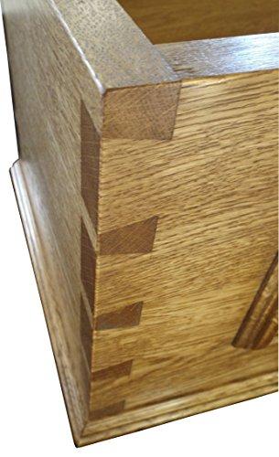 trtc Eiche Holz High Level, Zisterne, gerade Seiten