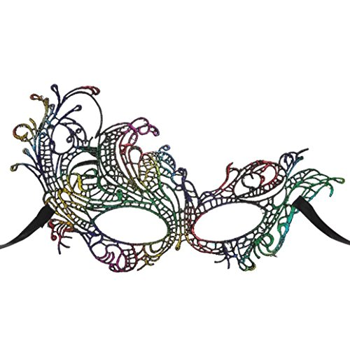Spitze Speedo mmysterious Taucherbrille Damen Masquerade Party Masken Zubehör D (Masquerade Zubehör)