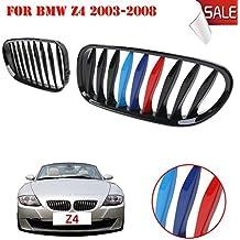 Sengear 1paio nero lucido + M-color reni griglia anteriore per BMW E85/E86Z42003–2008Cabrio/Coupe