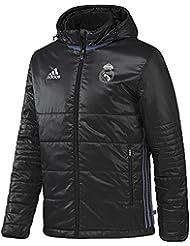Doudoune à capuche Real Madrid Noir
