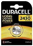 Duracell Batteria al Litio Specialistica a Bottone, Stilo 2430, Confezione da 1