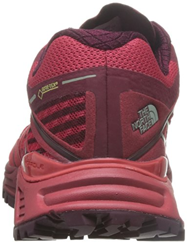 The North Face W Ultra Endurance Gtx, Chaussures de Trail Femme Rosso (Melonrd/Bikngrd)