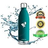 Aorin 750ml Trinkflasche (Blauer See) - 2