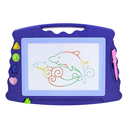 wishtime-4-color-erasable-doodle-sketch-magic-toy-learning-writer-drawing-board-with-4-stampers-magn