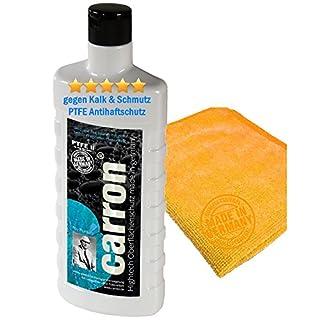 carron PTFE-II Glas-Versiegelung Set gegen Kalk-Schmutz Dusche Duschwand Badewanne Duschkabine Fliesen dauerhaft reinigen