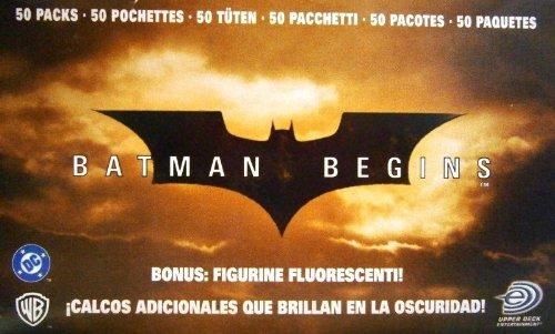Batman Begins Sticker Booster Display (50 Stück)