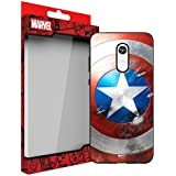 MTT Marvel Captain America Officially Licensed Tough Armor Back Case Cover for Redmi 5 (Design 76)
