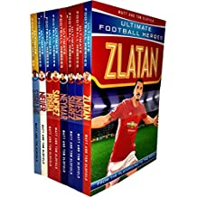 Ultimate Football Heroes Series 2 Collection 8 Books Set (Zlatan, Iniesta, Suarez, Neymar, Sanchez, Pogba, Neuer, Sterling)